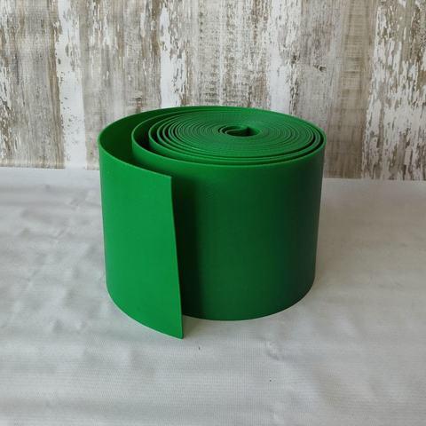 ЛентаЛента бордюрная высота 15 см, толщина 2 мм, в рулоне 9 метров Зеленая