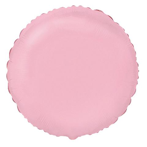 Шар-круг Розовый, 45 см