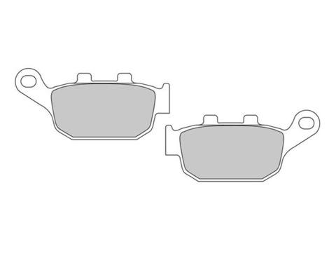 Задние тормозные колодки для Honda CB 400 92-98