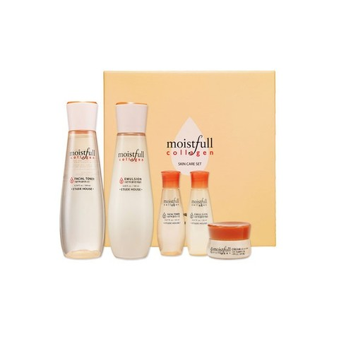 Бьюти набор коллаген и баобаб    ETUDE HOUSE COLLAGEN MOISTFULL SKIN CARE KIT