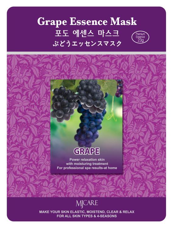 Тканевая маска для лица виноград MIJIN Essense Mask