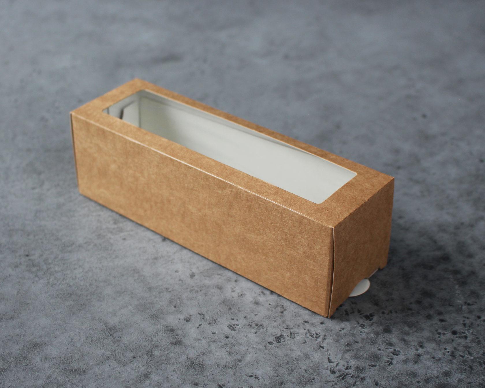 Коробка для макаронс 18х5,5х5,5см
