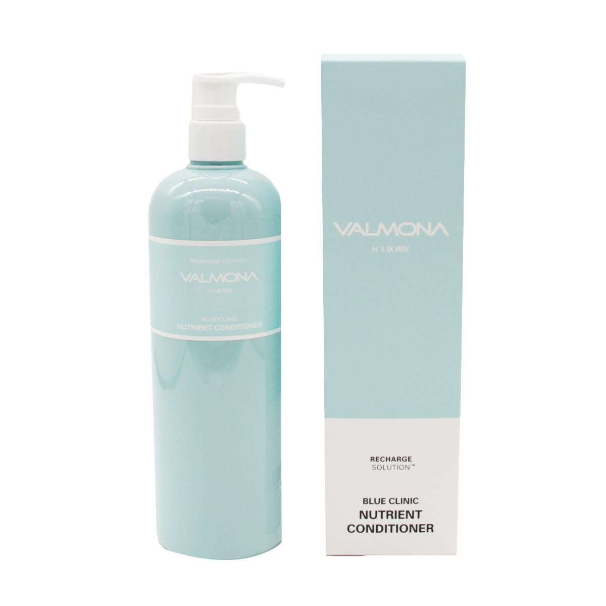 VALMONA Кондиционер для волос VALMONA увлажнение Recharge Solution Blue Clinic Nutrient Conditioner,480 мл. 8802929004433.png