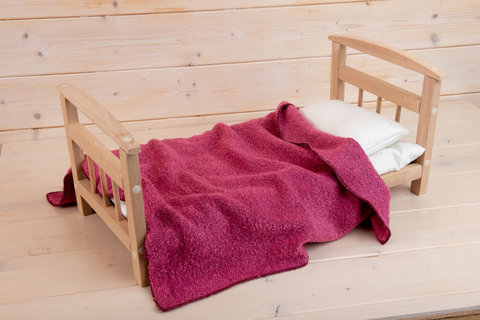 Кроватка кукольная большая Леснушки