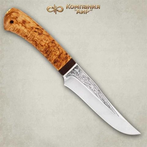 Нож Восток, карельская береза, 100х13м