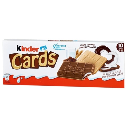 Kinder cards 128 гр