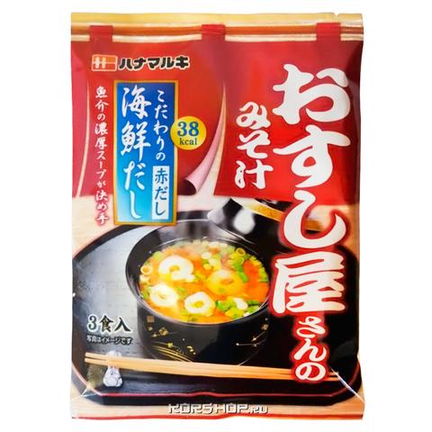 Мисо-суп Ханамаруки 3 порции вкус морепродуктов 62,1гр.