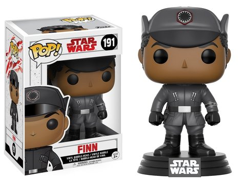 Фигурка Funko POP! Bobble: Star Wars: E8 TLJ: Finn (POP 3) 14744