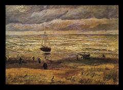 """Репродукция """"Ван Гог - Вид на море у Схевенингена"""""""
