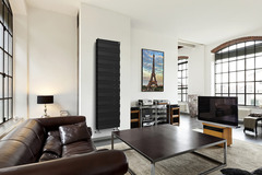 Радиатор биметаллический Royal Thermo PianoForte Tower Noir Sable (черный)  - 22 секции