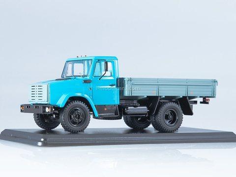 ZIL-4333 flatbed truck blue-gray 1:43 Start Scale Models (SSM)