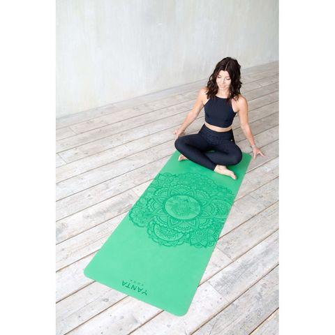 Каучуковый йога коврик Mandala Yanta Yoga 185*68*0,4 см