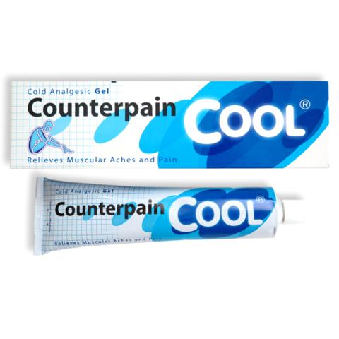Охлаждающий гель Counterpain Cool Cold Analgesic Gel, 60g