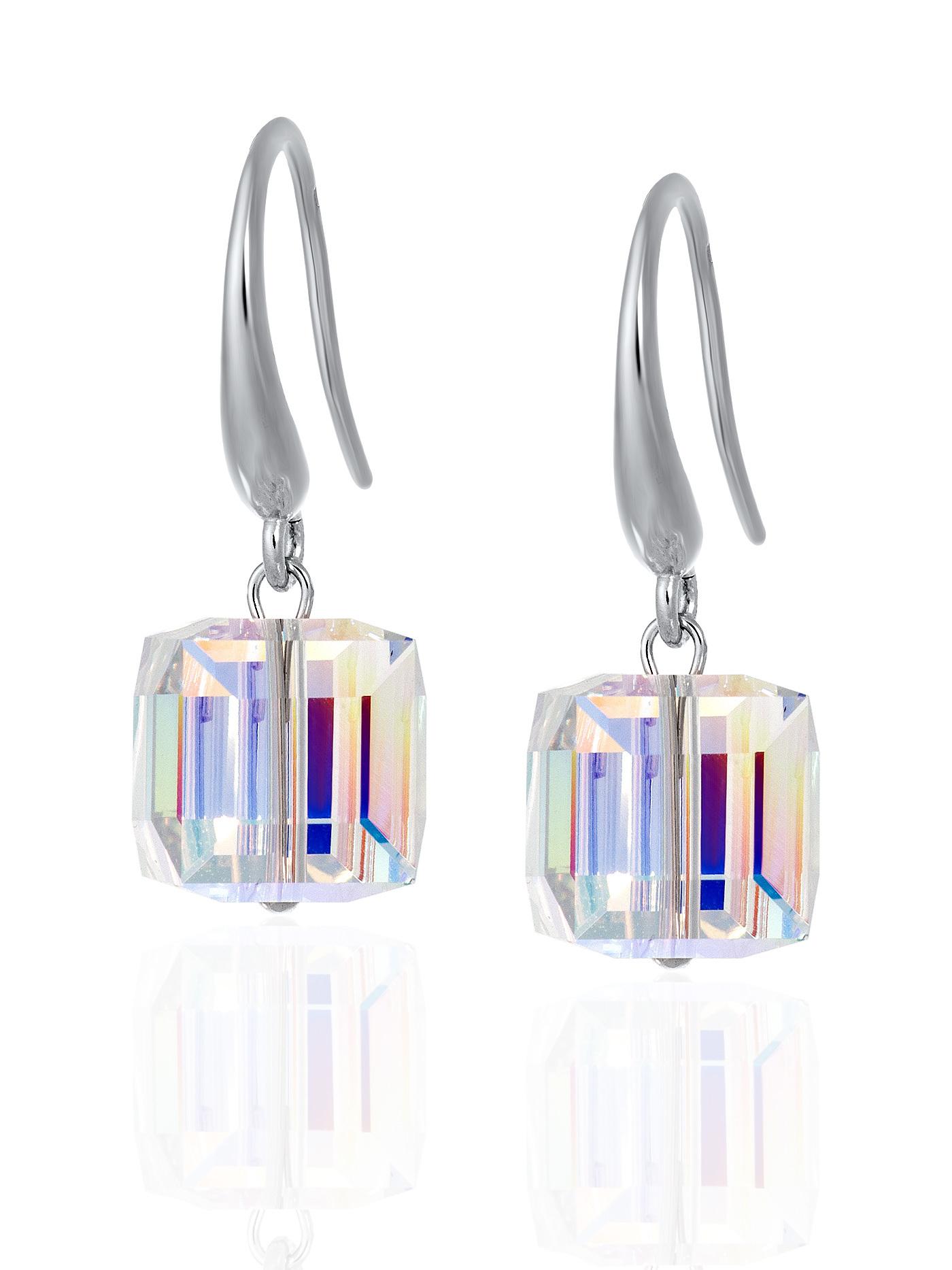 Ювелирные серьги с кристаллами Swarovski