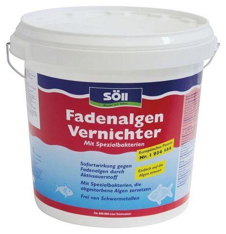 FadenalgenVernichter 25 кг - Средство против нитевидных водорослей