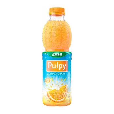 Pulpy Сок с мякотью АПЕЛЬСИН 0,5 л