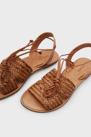 Женские коричневые сандалии Anacapri