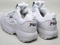 Модные женские кроссовки Fila Disruptor II
