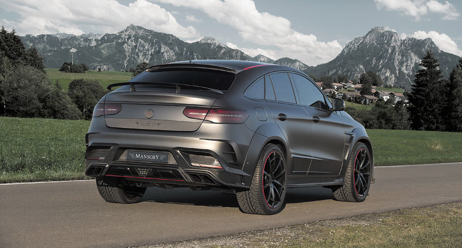 Обвес Mansory для Mercedes GLE63 Coupe C292