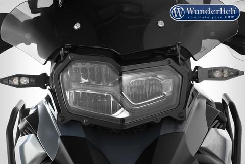 Защита фары BMW F750/850 GS, прозрачная