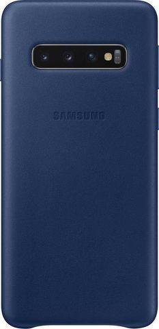 Чехол SAMSUNG Leather Cover для Samsung Galaxy S10 Синий