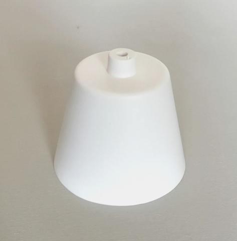 Чашка потолочная белая (пластик)