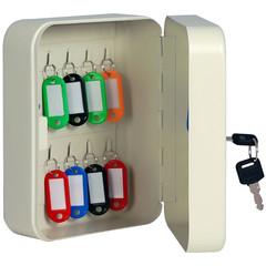 Шкаф для ключей Onix К-20 серый (на 20 ключей, металл)