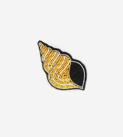 Брошь Gold Shell