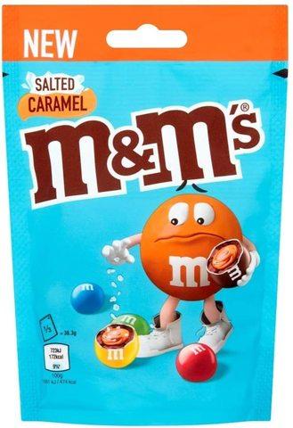 Шоколадное драже M&M'S Salted Caramel Big Pack соленая карамель 109 гр