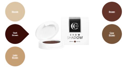 Тени для бровей Brow Shadow CC Brow