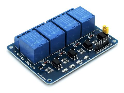 Модуль реле 4-канальный 10 А, 250 V
