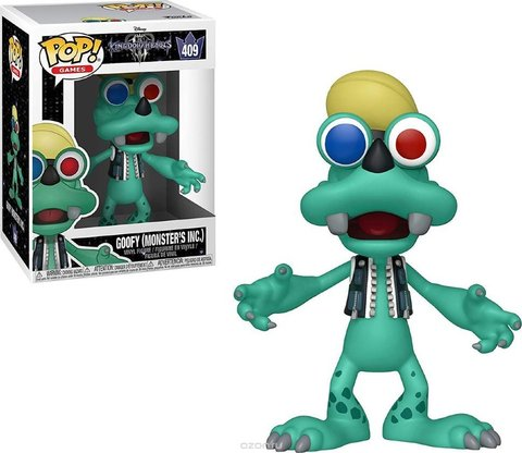 Goofy (Monster's Inc.) Kingdom Hearts Funko Pop! Vinyl Figure ||  Гуффи