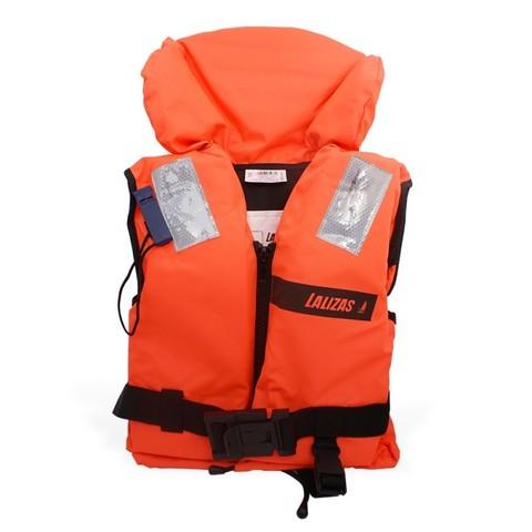 Жилет спасательный Life Jacket 100N, 90+ кг, оранжевый
