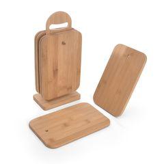 Набор из 6-ти разделочных досок 23x15x1см (бамбук)
