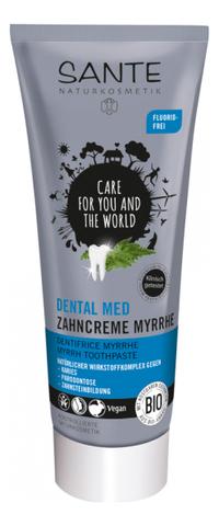 Зубная паста с миррой 75 мл (SANTE)