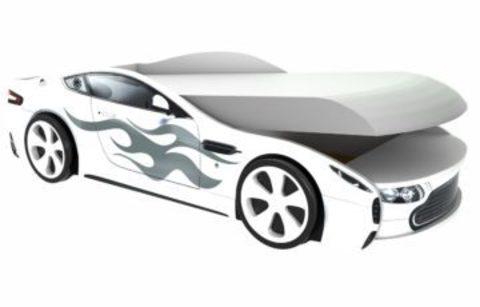 Кровать с подъемным механизмом Бондмобиль белая