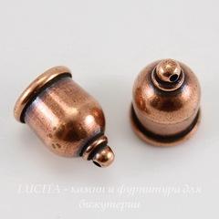 Концевик для шнура 8 мм TierraCast