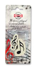 Ластик мягкий MUSIC 6921, для карандашей 3В-3Н, 2шт, блистер