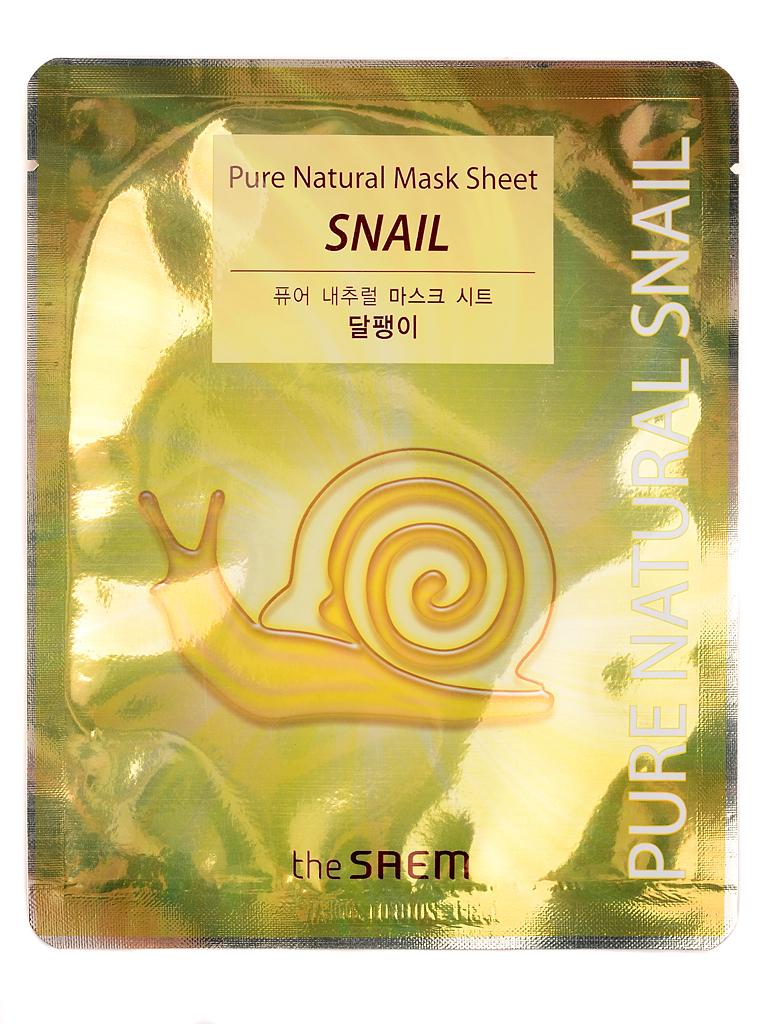 the SAEM Тканевая маска для лица с муцином улитки Pure Natural Mask Sheet [Snail] i18177_1484596349_10.jpg