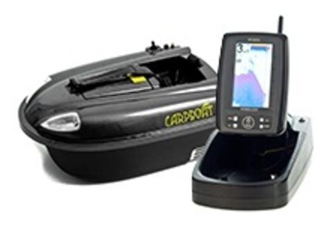 Кораблик Carpboat mini carbon + Эхолот TF500