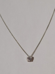 0320290 (серебряная цепочка с подвеской)