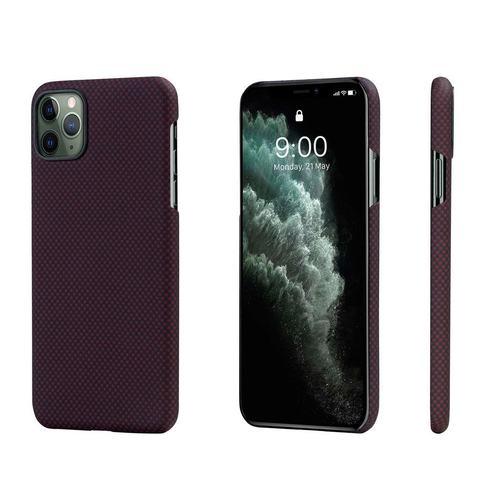 Чехол Pitaka MagEZ Case для Apple iPhone 11 Pro Max (Black/Red Plain)