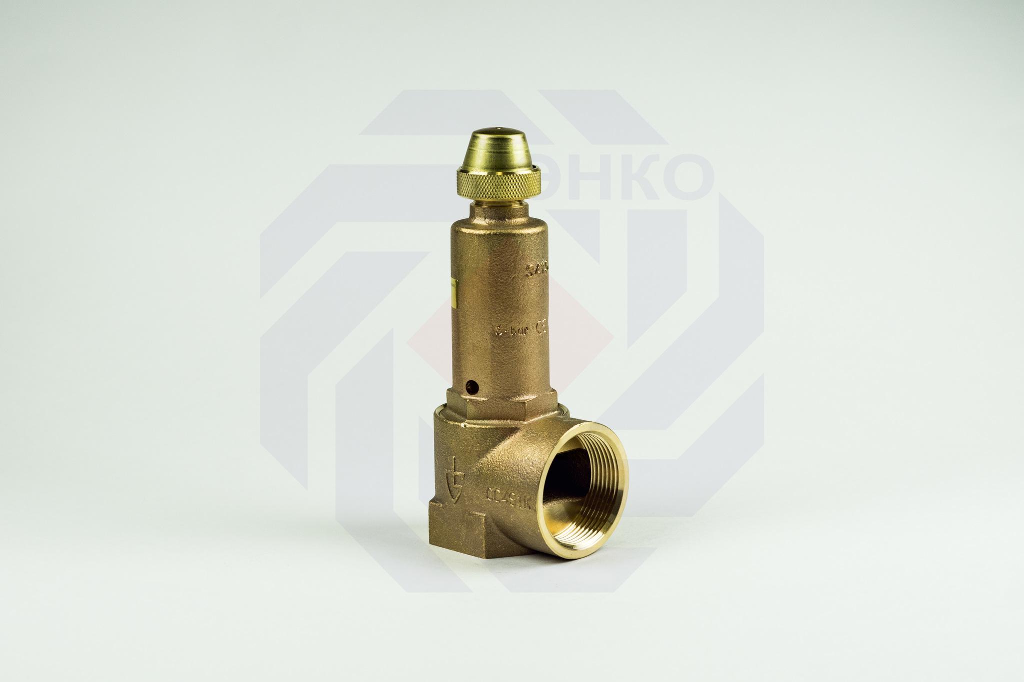 Клапан предохранительный GOETZE 651mWIK 6 бар 1½