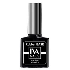 Base Rubber Medium Viscosity 8ml, IVA NAILS
