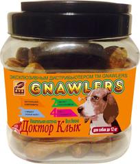 Лакомство для собак до 12 кг Green Qzin Жевательная косточка Доктор Клык со вкусом бекона