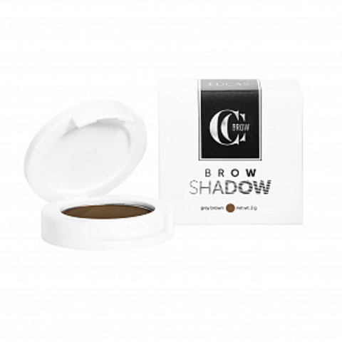 Тени для бровей Brow Shadow CC Brow, серо-коричневый