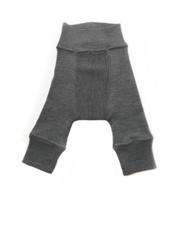 Шерстяные штанишки Babyidea, Серый меланж