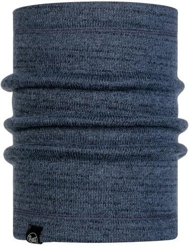 Теплый шарф-труба Buff Neckwarmer Thermal Melange Navy фото 1