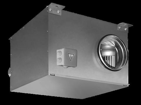 Вентилятор канальный круглый в звукоизолированном корпусе Shuft ICFE 160 VIM