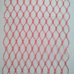 Вуаль вафельная, ширина 20 см., красный